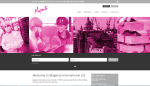 Magenta's new site is now live - building on their existing brand #recruitmentwebsites #onbrand