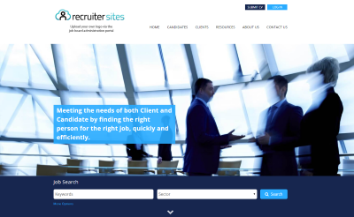 bespoke recruitment website design